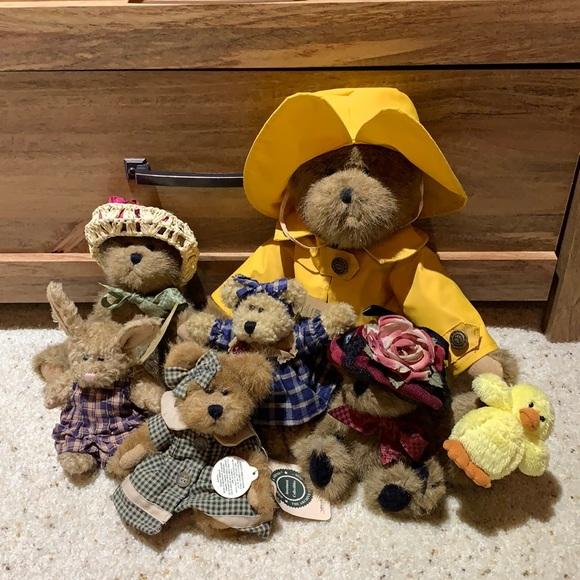 Boyd's Bears Collection 6 Bears